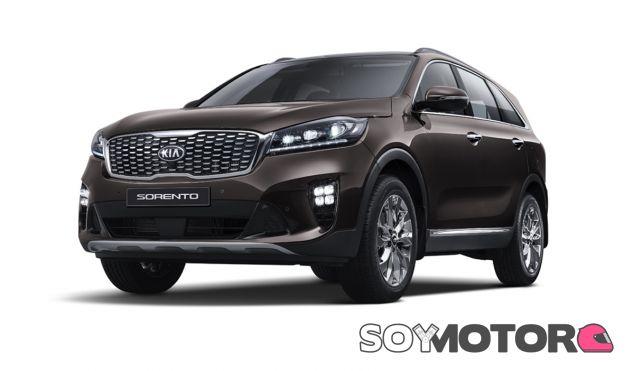 El renovado frontal del Kia Sorento se actualiza con sutiles detalles - SoyMotor