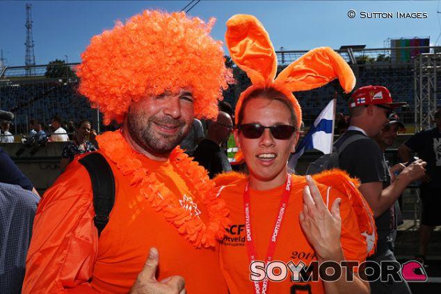 Aficionados de Holanda en Hungaroring - SoyMotor.com