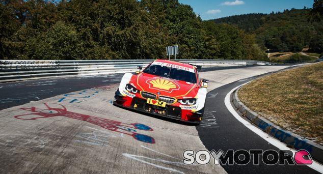Augusto Farfus al volante del BMW M4 DTM en Nürburgring - SoyMotor.com