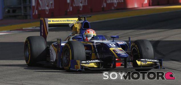 Carlin, Felipe Nasr, GP2 Series 2013 - Round 10 - Marina Bay Street Cir, Singapore