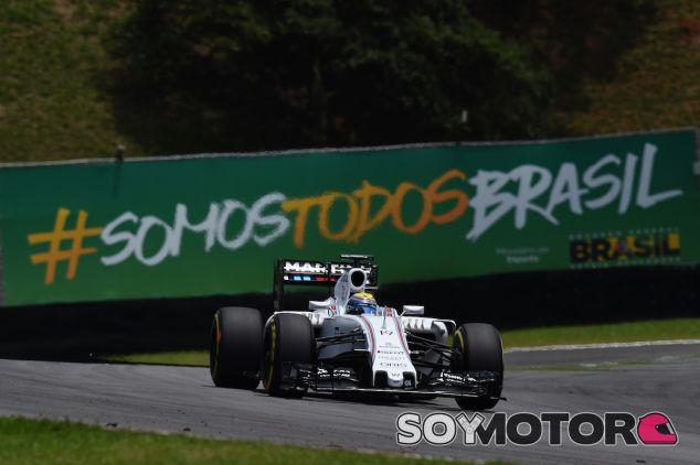 Felipe Massa durante la clasificación del GP de Brasil 2015 - LaF1