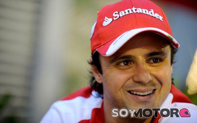 Felipe Massa en Corea