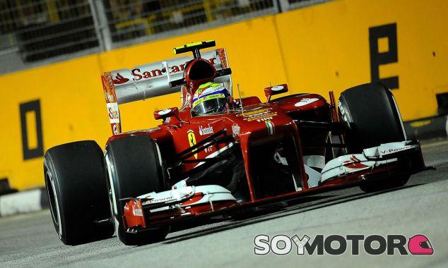 Felipe Massa en el GP de Singapur F1 2013 - LaF1