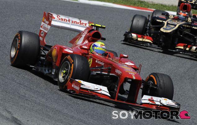 Felipe Massa y Kimi Räikkönen - LaF1
