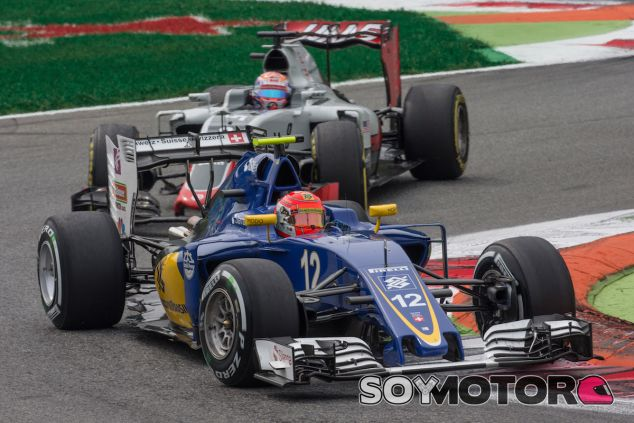 Felipe Nasr en Monza - LaF1