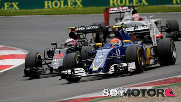 Nasr ha rodado durante gran parte de la carrera en el top 10 - LaF1
