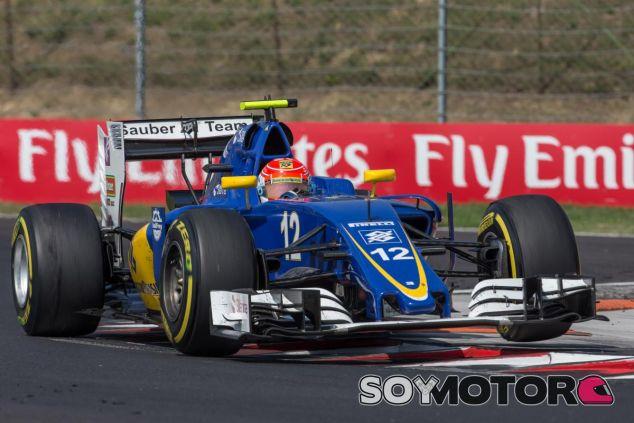 Sauber sufre con el tráfico en el GP de Hungría - LaF1