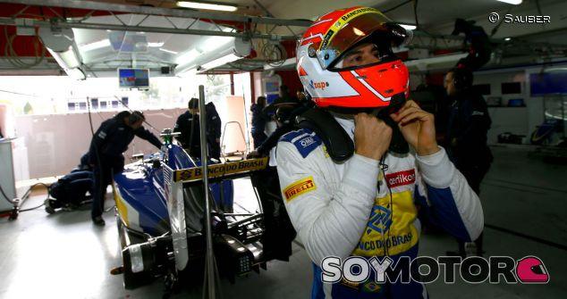 Felipe Nasr durante los test de Jerez - LaF1