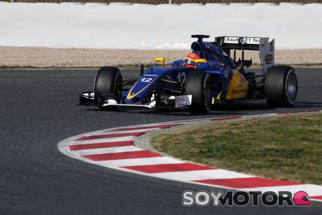 Nasr debuta en la pretemporada 2016 - LaF1