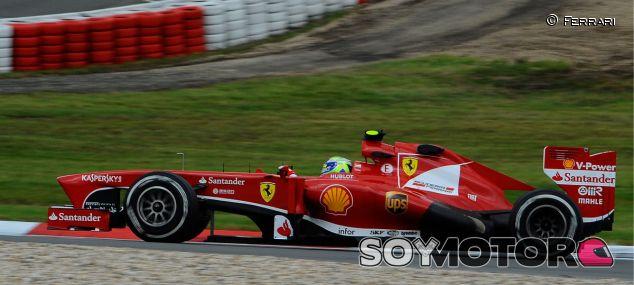 Felipe Massa y su F138
