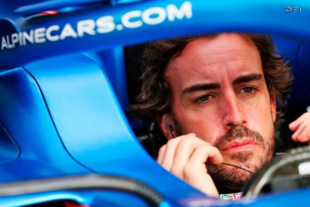 Fernando Alonso señala las carencias del Alpine A521 - SoyMotor.com