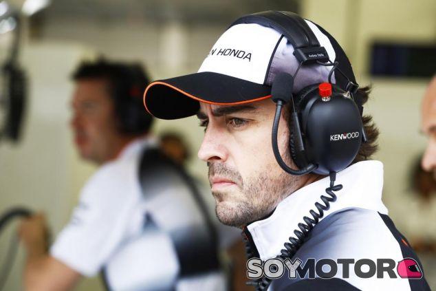 Alonso ha visto los toros desde la barrera en Baréin - LaF1
