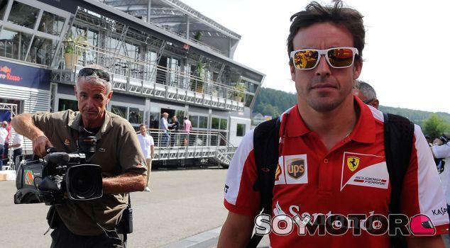 Fernando Alonso en Spa - LaF1