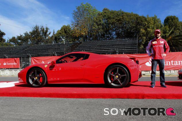 Fernando Alonso ha asistido hoy a un acto de presentación del Autódromo Hermanos Rodríguez - LaF1