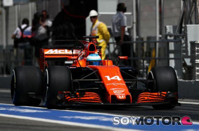 McLaren en el GP de España F1 2017: Viernes - SoyMotor.com