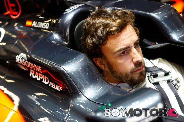 Fernando Alonso volvió a la acción en el Gran Premio de China - LaF1