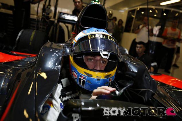 Alonso vuelve a la acción en China - LaF1