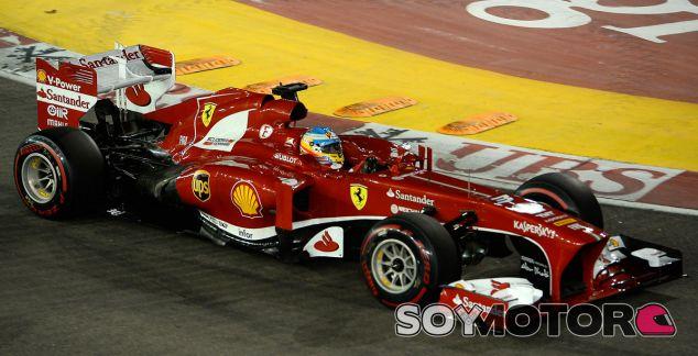 Fernando Alonso, segundo en el GP de Singapur F1 2013 - LaF1