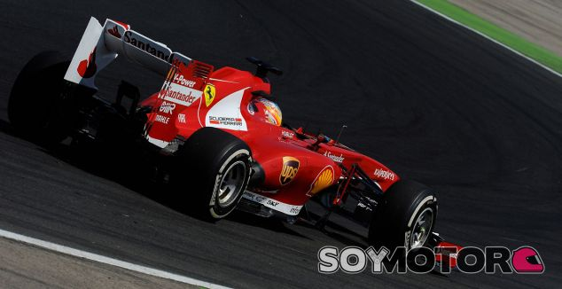Fernando Alonso lidera los Libres 1 dedel GP de Bélgica F1 2013 - LaF1