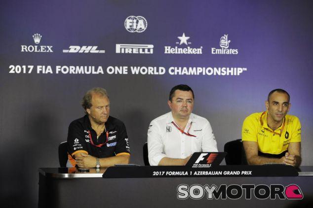 GP de Azerbaiyán F1 2017: Rueda de prensa del viernes - SoyMotor.com