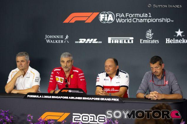 Gil de Ferran, Maurizio Arrivabene, Frederic Vasseur y Guenther Steiner – SoyMotor.com