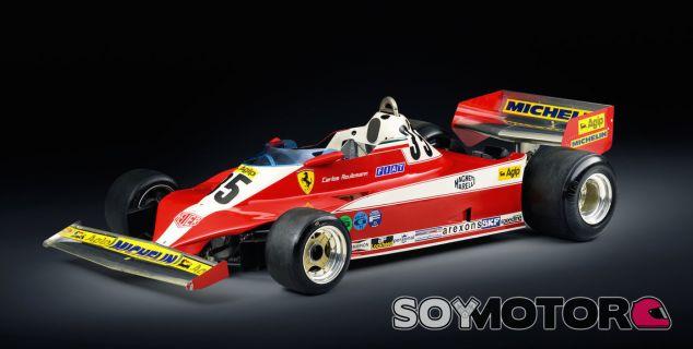 Ferrari 312T3 de Carlos Reutemann y Gilles Villeneuve - SoyMotor.com
