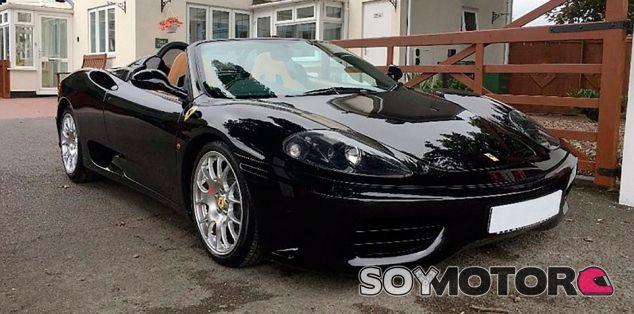 El Ferrari 360 Spider de David Beckham en venta - SoyMotor.com
