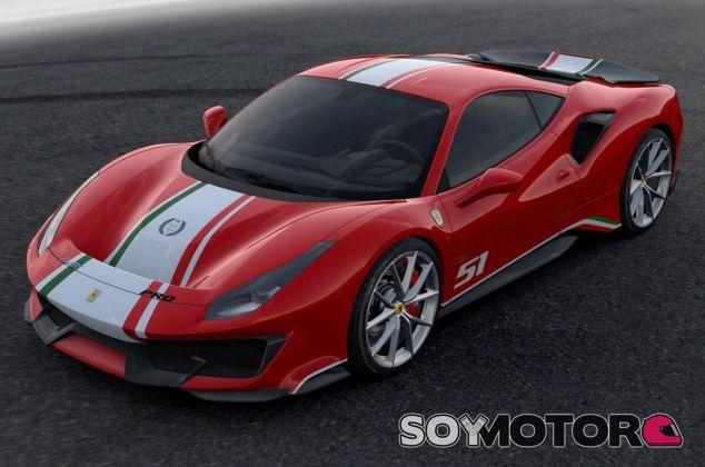Ferrari 488 Pista 'Piloti Ferrari: edición especial sólo pilotos de la marca - SoyMotor.com