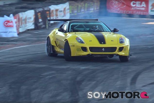 Ferrari 599 Fiorano: la máquina perfecta... de drift - SoyMotor.com