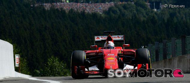 Sebastian Vettel en Spa-Francorchamps - LaF1