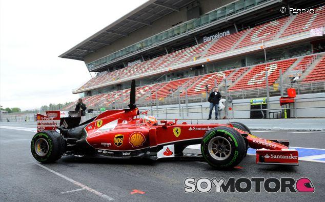 Kimi Räikkönen en los tests post-carrera de Montmeló - LaF1