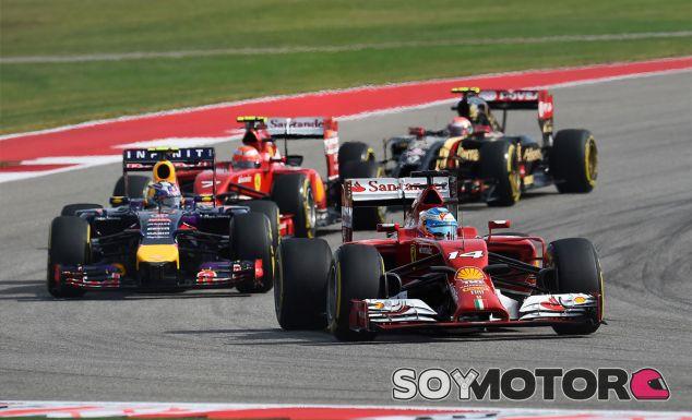 Fernando Alonso en el Circuit of the Americas - LaF1