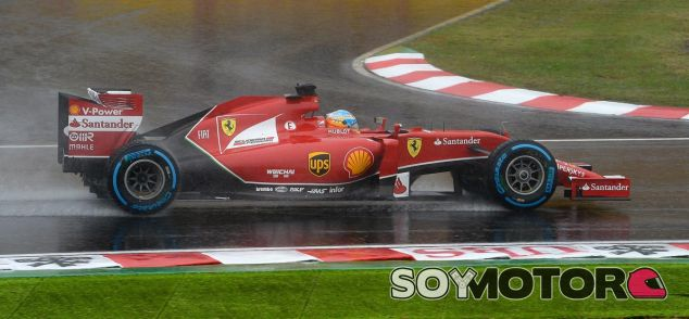 Ferrari en el GP de Japón F1 2014: Domingo