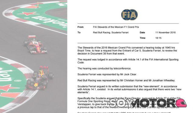 Los comisarios tumban la protesta de Ferrari por la sanción de Vettel - LaF1