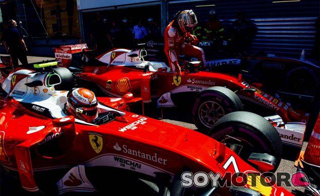 Sebastian Vettel y Kimi Räikkönen en Mónaco - LaF1