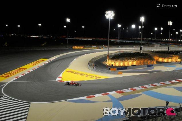 Kimi Räikkönen en el GP de Baréin del año pasado - LaF1