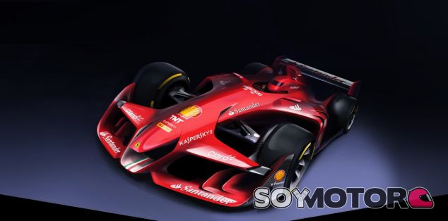 El concepto futurista de Ferrari - LaF1.es