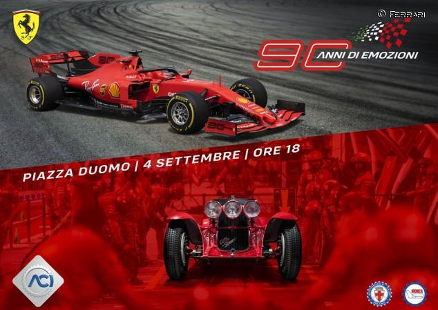 Ferrari y el GP de Italia celebrarán 90 años en Milán - SoyMotor