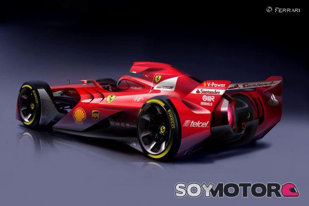 Concepto de F1 futuro por Ferrari - LaF1.es