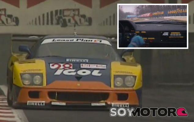 Con un Ferrari F40 por Monza - SoyMotor.com