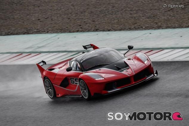 Ferrari FXX-K en una imagen de archivo - SoyMotor.com