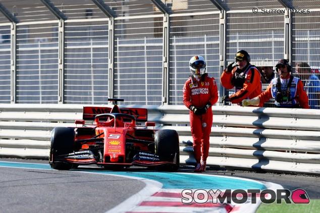 Vettel en Yas Marina - SoyMotor.com