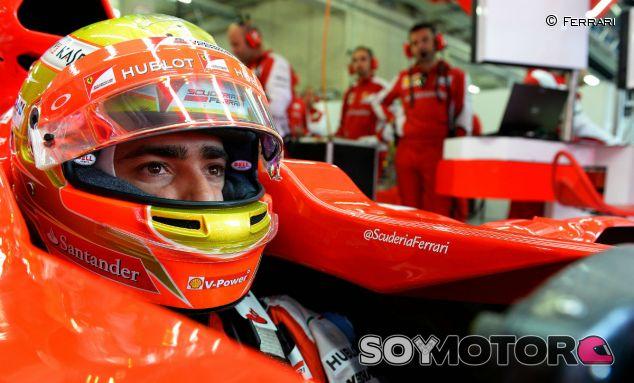 Esteban Gutiérrez durante los tests de Austria - LaF1