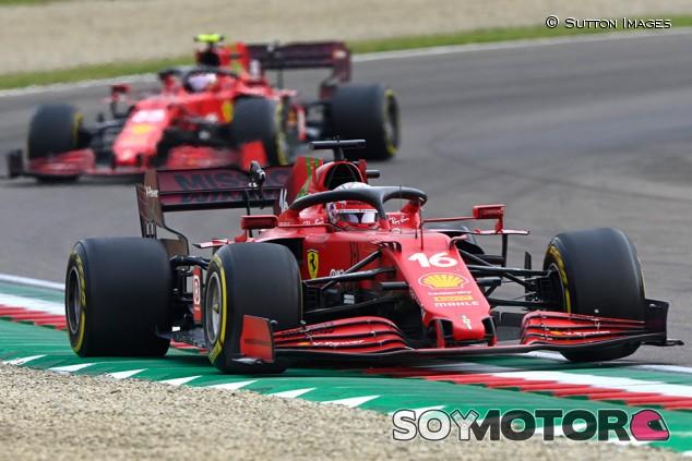 La rabia de Ferrari en Imola dice más que su resultado - SoyMotor.com