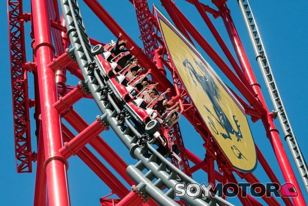 Red Force, la atracción reina de Ferrari Land - SoyMotor