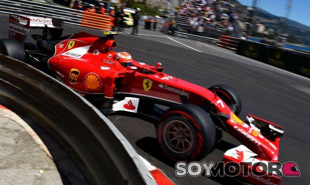 Kimi Räikkönen en el pasado Gran Premio de Mónaco - LaF1