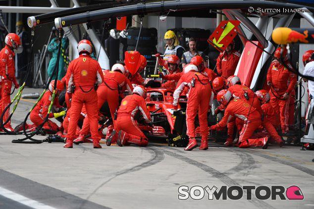 Parada de Ferrari en Interlagos - SoyMotor.com
