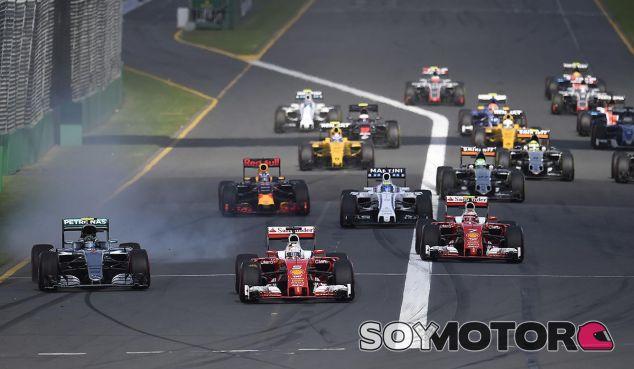 Salida del Gran Premio de Australia - laF1