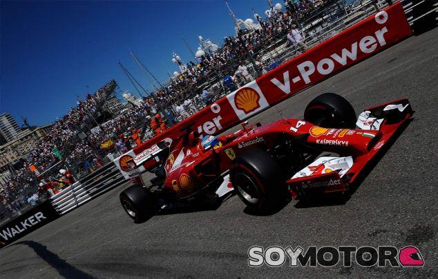 Fernando Alonso durante el Gran Premio de Mónaco - LaF1