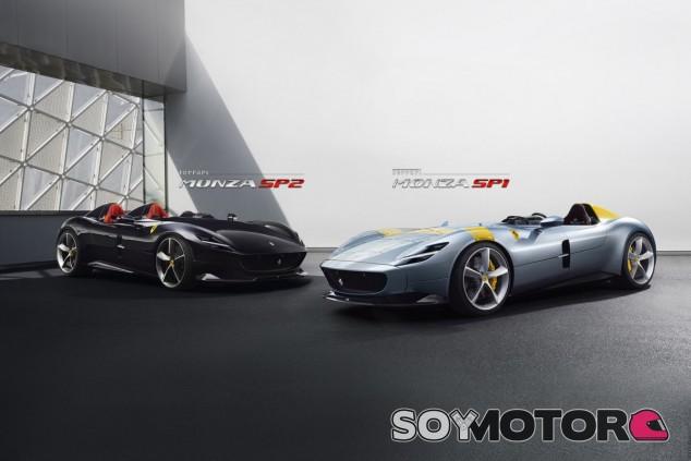 Ferrari Monza SP1: vuelta a las 'barchettas', ¡pero no en Le Mans! - SoyMotor.com